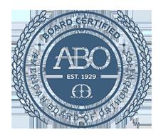 ABO Seal Greater Houston Orthodontics Houston TX