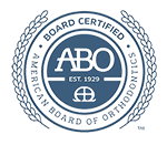 ABO Small Seal Greater Houston Orthodontics in Houston TX