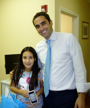 Cyber Sleuth Contest Winner at Greater Houston Orthodontics in Houston TX